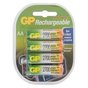 Аккумулятор GP 270AAHC AA NiMH 2700mAh (4шт)