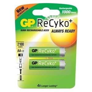 Аккумулятор GP Recyko 210AAHCB AA NiMH 2000mAh (2шт)