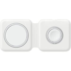 Беспроводное зарядное устройство Apple MagSafe Duo для кабель Lightning/Type-C белый (MHXF3ZE/A)