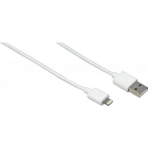 Фото - Кабель HAMA H-173863 00173863 USB A(m) Lightning (m) 1м белый gerffins lightning usb белый