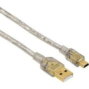 Кабель HAMA H-41533 00041533 USB A(m) mini B (m) 1.8м прозрачный