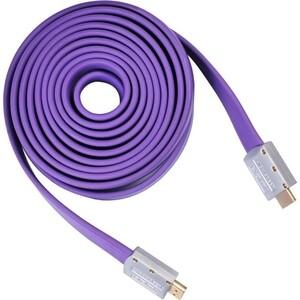 Кабель аудио-видео Buro HDMI 1.4 (m)/HDMI (m) 5м. черный (HDMI 19M-19M V1.4 FL)
