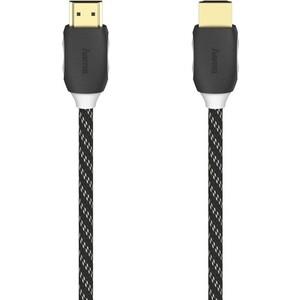 Фото - Кабель аудио-видео HAMA H-205444 HDMI (m)/HDMI (m) 1.5м. Позолоченные контакты черный (00205444) кабель аудио видео hama h 39668 hdmi m hdmi m ver 1 3 10м gold черный [00039668]