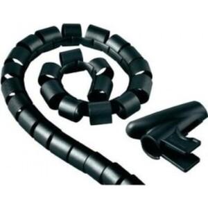 Фото - Кабельный органайзер HAMA H-20603 (00020603) 1.5m black микрофон проводной hama h 46060 3м black