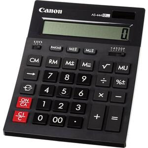 Калькулятор бухгалтерский Canon AS-444 II черный 12-разр. AS-444 II черный 12-разр.