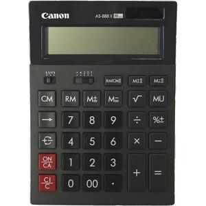 Калькулятор бухгалтерский Canon AS-888 II черный 16-разр. AS-888 II черный 16-разр.