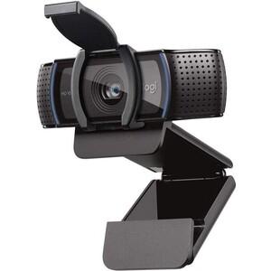 Фото - Веб-камера Logitech HD Pro Webcam C920S черный 3Mpix USB2.0 с микрофоном для ноутбука usb microphone webcam desktop camera desktop usb 12mp hd webcam computer camera for pc laptop