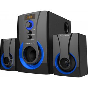 Минисистема Supra SMB-310 черный 60Вт/ FM/USB/BT/SD
