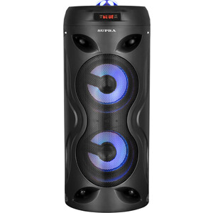 Минисистема Supra SMB-330 черный 20Вт/ FM/USB/BT