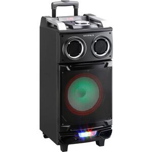 Минисистема Supra SMB-880 черный 140Вт/ FM/USB/BT/SD