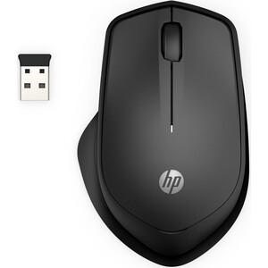 Мышь HP 280 Silent черный оптическая беспроводная USB