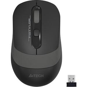 Фото - Мышь A4Tech Fstyler FG10 черный/серый оптическая (2000dpi) беспроводная USB (4but) мышь a4tech fstyler fg10 черный оранжевый оптическая 2000dpi беспроводная usb 4but