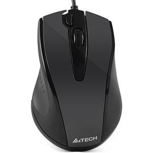 Мышь A4Tech V-Track Padless N-500F черный оптическая (1000dpi) USB (4but) недорого