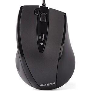 Мышь A4Tech V-Track Padless N-770FX черный оптическая (1600dpi) USB (5but) недорого