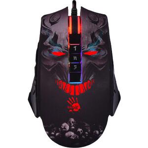 Мышь A4Tech Bloody P85s Skull рисунок оптическая (8000dpi) USB (8but)