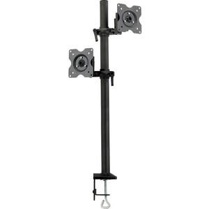Фото - Кронштейн для мониторов Kromax OFFICE-5 серый 13-32 макс.12кг настольный поворот и наклон кронштейн для мониторов жк kromax office 2 серый 15 32 макс 10кг настольный поворот и наклон