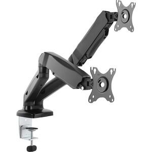 Фото - Кронштейн для мониторов Ultramounts UM 705 черный 13-27 макс.13кг настольный поворот и наклон верт.перемещ. кронштейн для мониторов ultramounts um 702 черный 13 27 настольный поворот и наклон верт перемещ макс 9кг