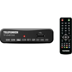 Тюнер DVB-T2 TELEFUNKEN TF-DVBT232 черный