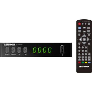 Тюнер DVB-T2 TELEFUNKEN TF-DVBT252 черный
