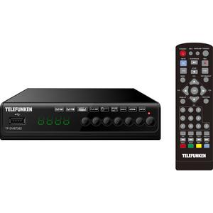 Тюнер DVB-T2 TELEFUNKEN TF-DVBT262 черный