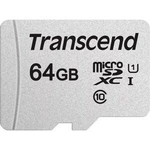 Карта памяти Transcend microSDXC 64Gb Class10 TS64GUSD300S w/o adapter