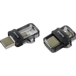 Фото - Флеш-диск Sandisk 64Gb Ultra Dual SDDD3-064G-G46 USB3.0 черный флеш диск sandisk 64gb extreme sdcz800 064g g46 usb3 1 черный