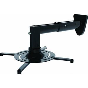 Фото - Кронштейн для проектора Cactus CS-VM-PR05B-BK черный макс.10кг настенный и потолочный поворот и наклон кронштейн для проектора cactus cs vm pr01 bk черный макс 23кг настенный и потолочный поворот и наклон