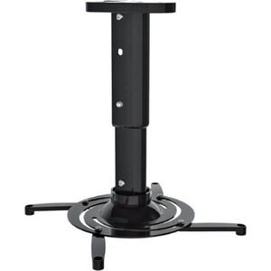 Фото - Кронштейн для проектора Cactus CS-VM-PR05M-BK черный макс.21кг потолочный поворот и наклон кронштейн для проектора cactus cs vm pr01 bk черный макс 23кг настенный и потолочный поворот и наклон