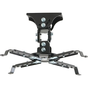 Кронштейн для проектора Kromax PROJECTOR-45 черный макс.12кг потолочный поворот и наклон