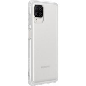 Чехол (клип-кейс) Samsung для Galaxy A12 Soft Clear Cover прозрачный (EF-QA125TTEGRU)