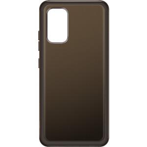 Чехол (клип-кейс) Samsung для Galaxy A32 Soft Clear Cover черный (EF-QA325TBEGRU)