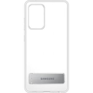 Чехол (клип-кейс) Samsung для Galaxy A52 Clear Standing Cover прозрачный (EF-JA525CTEGRU)