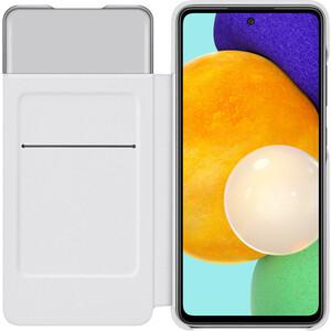 Чехол (флип-кейс) Samsung для Galaxy A52 Smart S View Wallet Cover белый (EF-EA525PWEGRU)