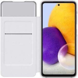 Чехол (флип-кейс) Samsung для Galaxy A72 Smart S View Wallet Cover белый (EF-EA725PWEGRU)