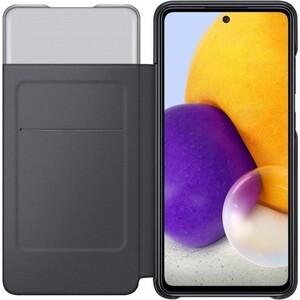Чехол (флип-кейс) Samsung для Galaxy A72 Smart S View Wallet Cover черный (EF-EA725PBEGRU)