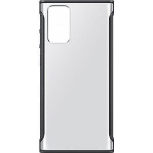 Фото - Чехол (клип-кейс) Samsung для Samsung Galaxy Note 20 Clear Protective Cover черный (EF-GN980CBEGRU) чехол клип кейс samsung galaxy note 20 ultra silicone cover белый ef pn985twegru