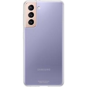 Чехол (клип-кейс) Samsung для Galaxy S21 Clear Cover прозрачный (EF-QG991TTEGRU)