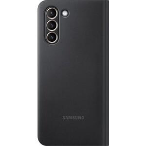 Чехол (флип-кейс) Samsung для Galaxy S21 Smart LED View Cover черный (EF-NG991PBEGRU)