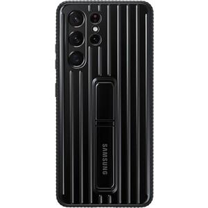 Фото - Чехол (клип-кейс) Samsung для Samsung Galaxy S21 Ultra Protective Standing Cover черный (EF-RG998CBEGRU) чехол клип кейс samsung galaxy note 20 ultra silicone cover белый ef pn985twegru