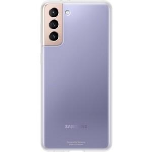 Чехол (клип-кейс) Samsung для Galaxy S21+ Clear Cover прозрачный (EF-QG996TTEGRU)