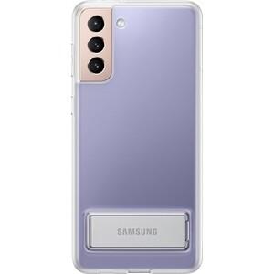 Фото - Чехол (клип-кейс) Samsung для Samsung Galaxy S21+ Clear Standing Cover прозрачный (EF-JG996CTEGRU) чехол для samsung galaxy note 10 2019 sm n970 clear cover прозрачный