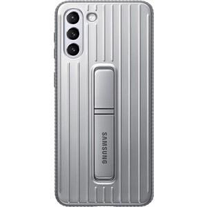 Чехол (клип-кейс) Samsung для Galaxy S21+ Protective Standing Cover светло-серый (EF-RG996CJEGRU)