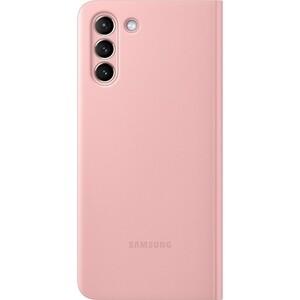 Чехол (флип-кейс) Samsung для Galaxy S21+ Smart Clear View Cover розовый (EF-ZG996CPEGRU)