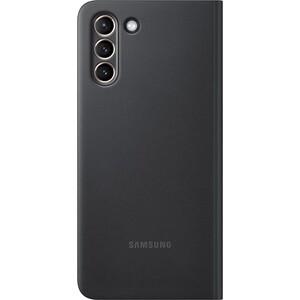 Чехол (флип-кейс) Samsung для Galaxy S21+ Smart Clear View Cover черный (EF-ZG996CBEGRU)