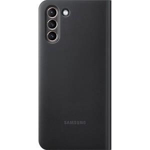 Чехол (флип-кейс) Samsung для Galaxy S21+ Smart LED View Cover черный (EF-NG996PBEGRU)