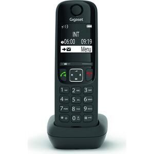 Фото - Дополнительная трубка Gigaset AS690HX черный для AS690 радиотелефон gigaset as690 black
