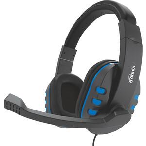 Игровая гарнитура Ritmix RH-555M Gaming Blue наушники ritmix rh 566m gaming