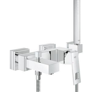Смеситель для ванны Grohe Eurocube с душевым гарнитуром (23141000) цена
