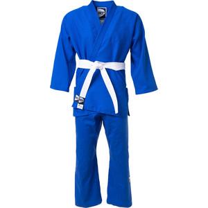 Кимоно для дзюдо GREEN HILL JSST-10572, синий, р.000/110