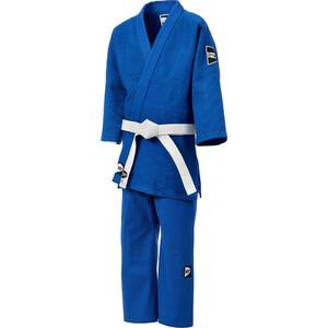 Кимоно для дзюдо GREEN HILL JSTT-10761, синий, р.3/160